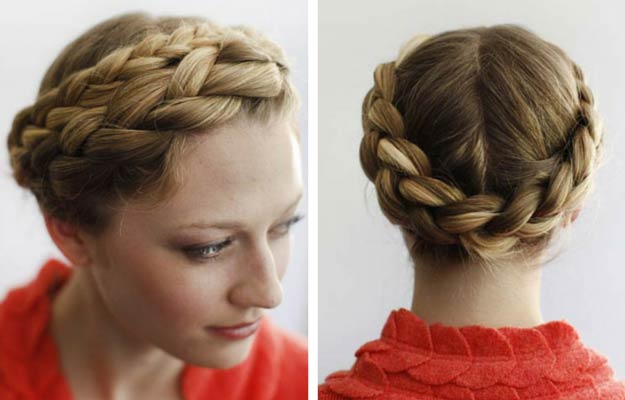 Miraculous Wrap Around The Head French Braid Braids Short Hairstyles Gunalazisus