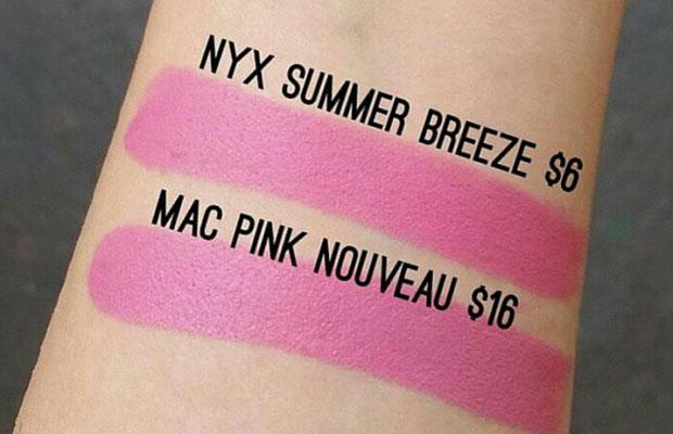 MAC Pink Nouveau Dupe