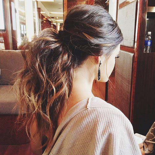 Ponytail Hairstyles 2016