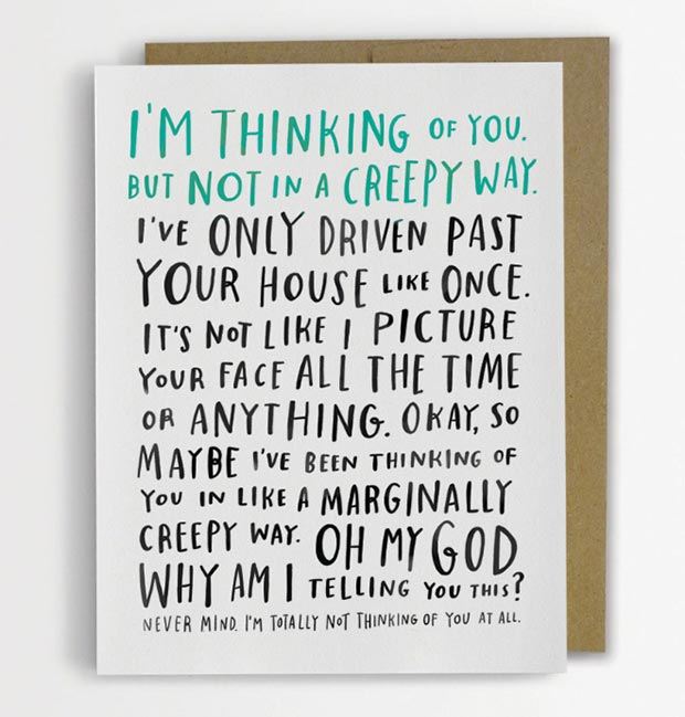 I'm Thinking of You Card