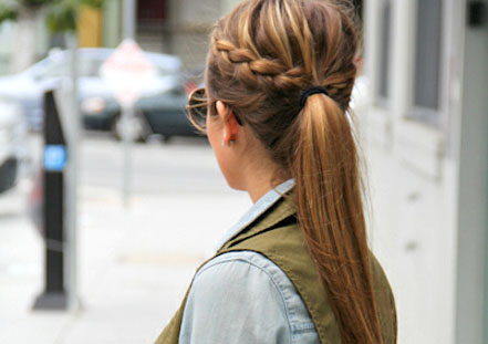 Pleasing French Braid Hairstyles You Would Love To Try Lushzone Short Hairstyles Gunalazisus