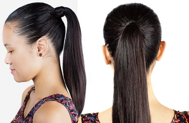 Peachy 30 Cute Ponytail Hairstyles You Need To Try Stayglam Short Hairstyles Gunalazisus