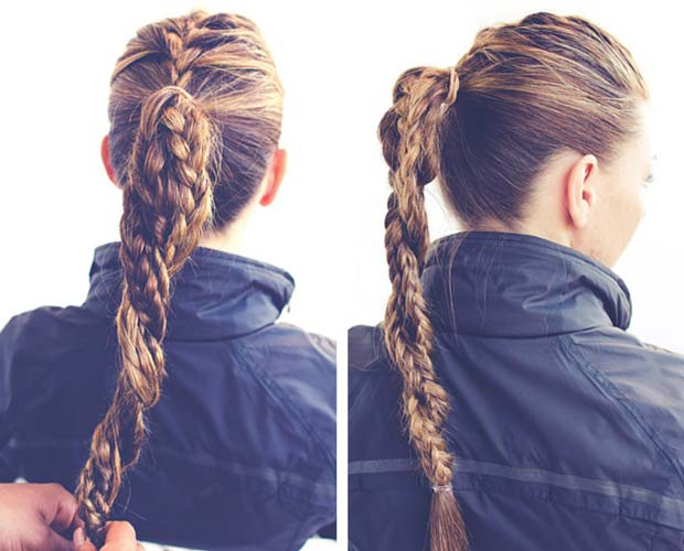 Hairstyles Braids Tumblr Step By Step: 50 French Braid Hairstyles For 2015