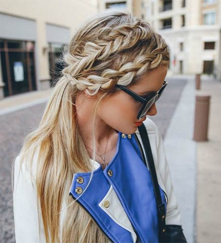 2 strand twist hairstyles : 50 French Braid Hairstyles for 2015 StayGlam