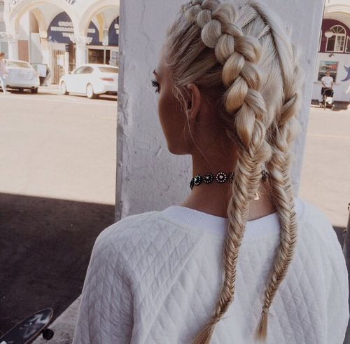 Stupendous 50 French Braid Hairstyles For 2015 Stayglam Short Hairstyles For Black Women Fulllsitofus