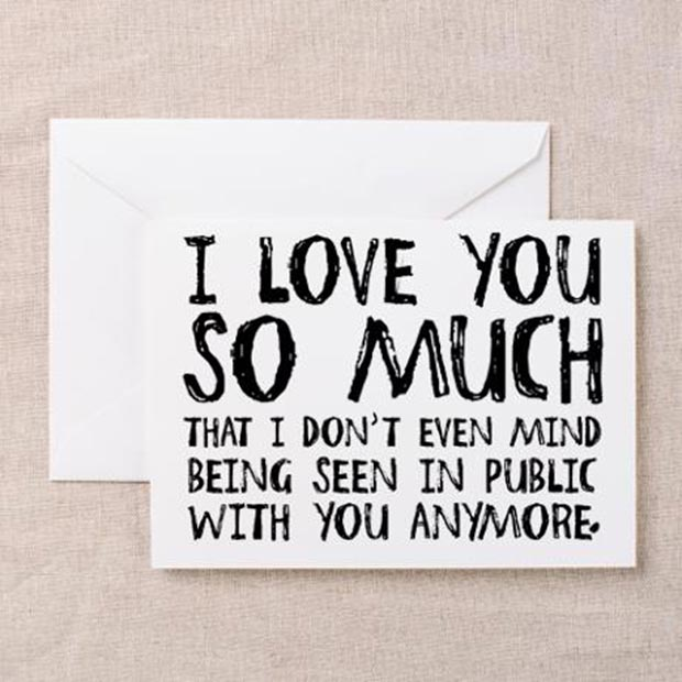 I Love you So Much Card