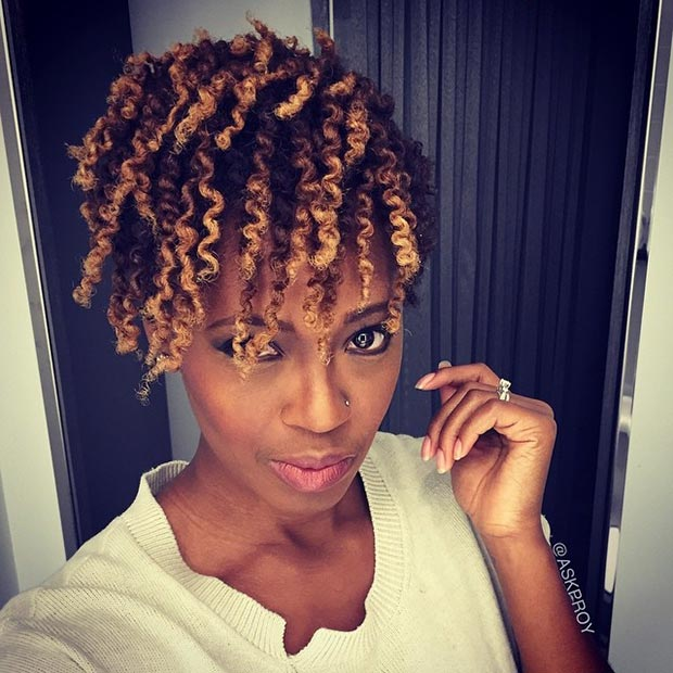 Swell 50 Short Hairstyles For Black Women Stayglam Short Hairstyles Gunalazisus