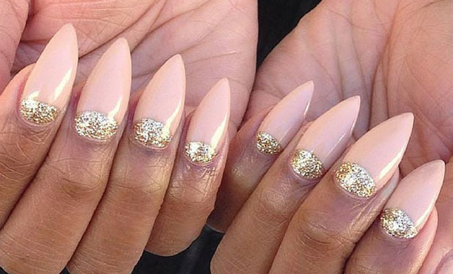 30 creative stiletto nail designs stayglam beauty 30 creative stiletto nail designs prinsesfo Images