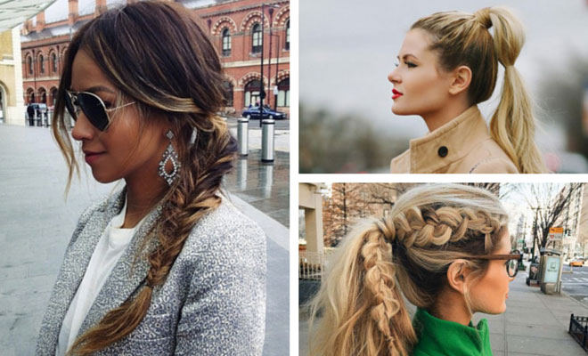 easy ponytail styles for medium hair 30 ponytail hairstyles you need to try stayglam 6650