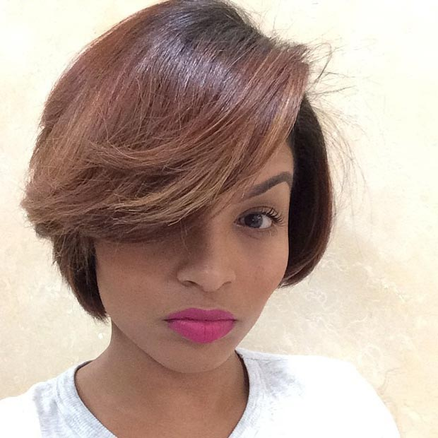 Pleasant 50 Short Hairstyles For Black Women Stayglam Hairstyles For Women Draintrainus