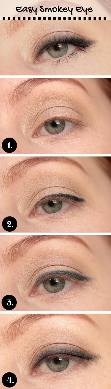 Easy Smokey Eye for Blue Eyes