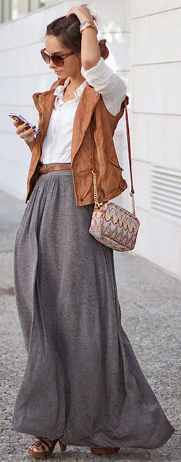 Find grey maxi skirt at ShopStyle. Shop the latest collection of grey maxi skirt from the most popular stores - all in one place.