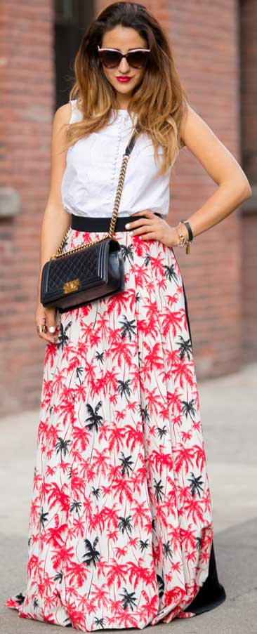 ac8130753 25 Maxi Skirt Outfits Ideas | StayGlam