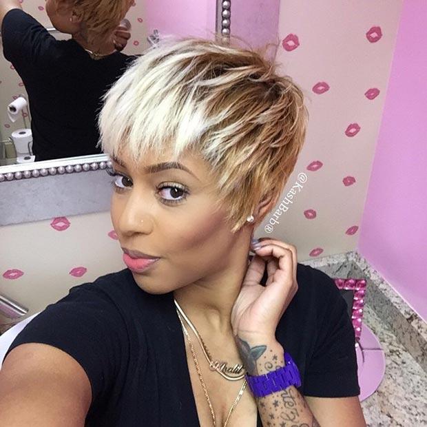 Peachy 50 Short Hairstyles For Black Women Stayglam Short Hairstyles Gunalazisus