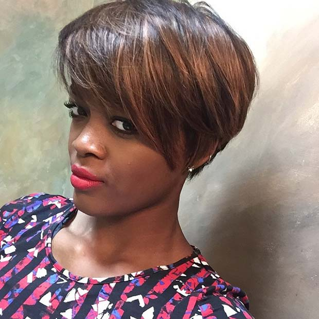Tremendous 50 Short Hairstyles For Black Women Stayglam Hairstyle Inspiration Daily Dogsangcom