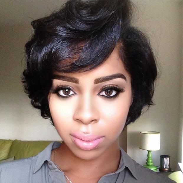 Strange 50 Short Hairstyles For Black Women Stayglam Short Hairstyles For Black Women Fulllsitofus