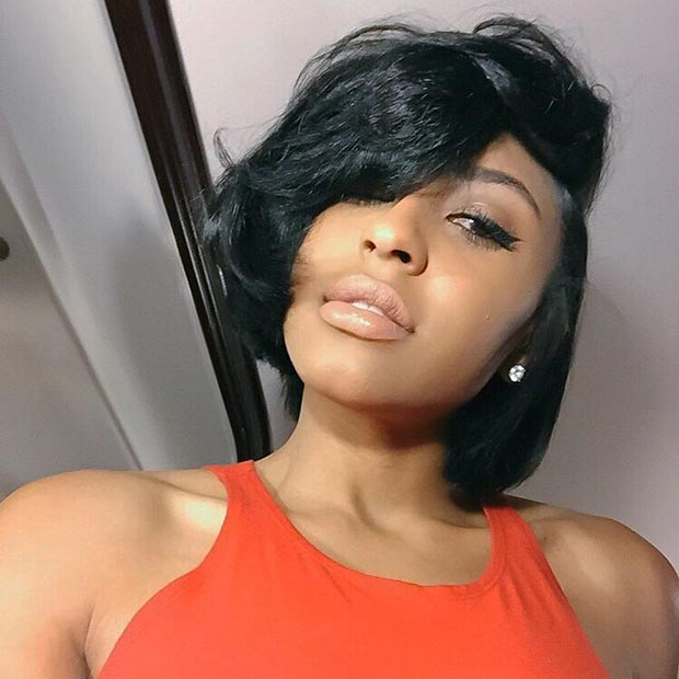 Swell 50 Short Hairstyles For Black Women Stayglam Hairstyles For Men Maxibearus