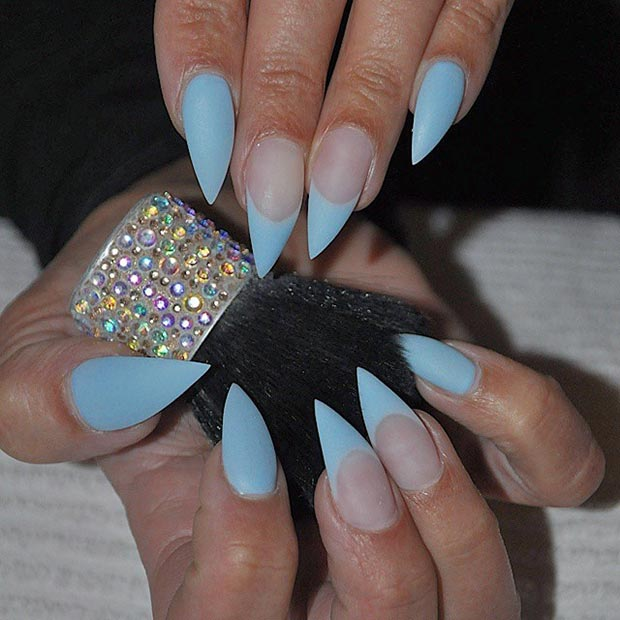 52 incredible stiletto nails you would love to have