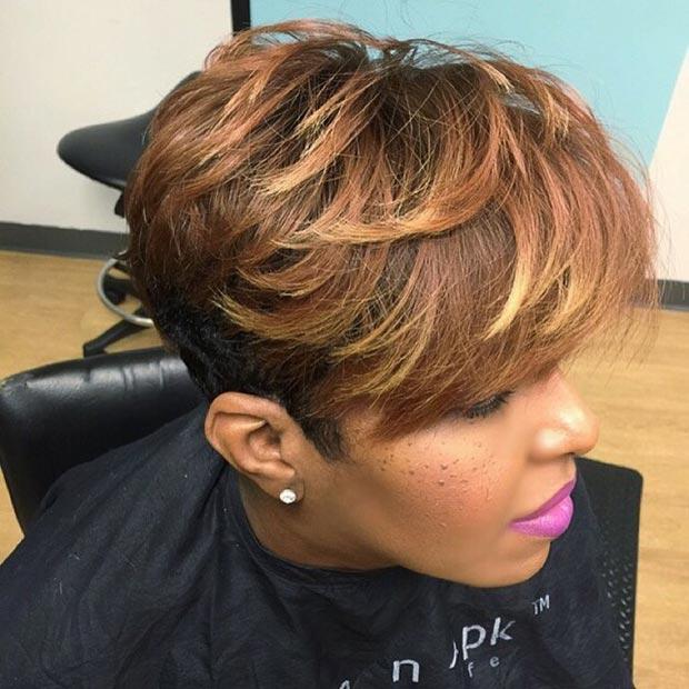 Groovy 50 Short Hairstyles For Black Women Stayglam Short Hairstyles Gunalazisus