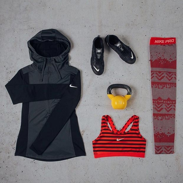 Long Sleeve Workout Outfit