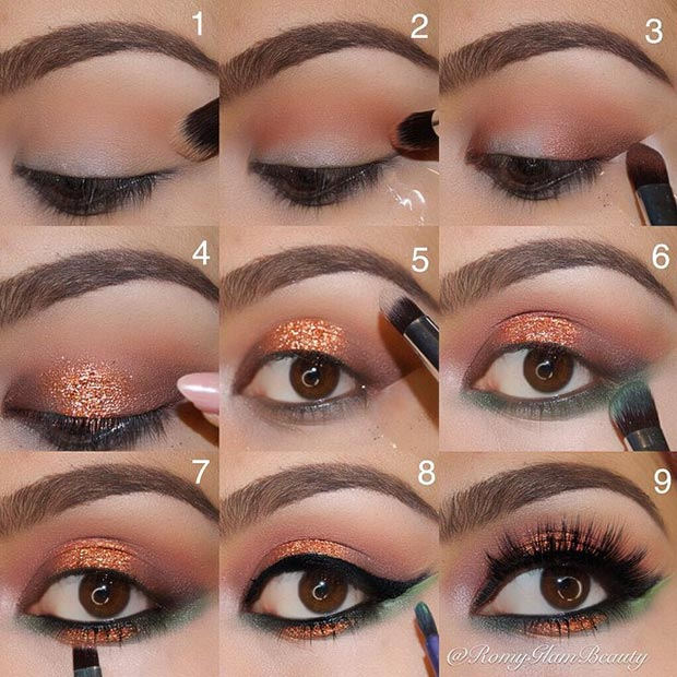 Glitter Eye Makeup Looks - Mugeek Vidalondon - photo#47
