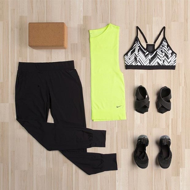 Simple Workout Outfit for Women