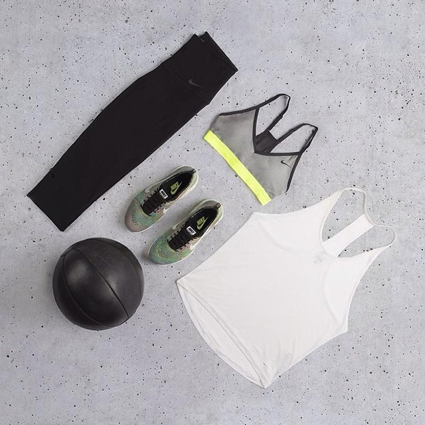 Simple Nike Workout Outfit