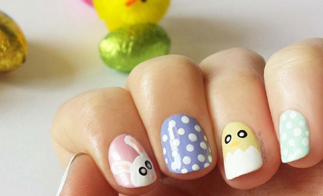 - 32 Cute Nail Art Designs For Easter StayGlam