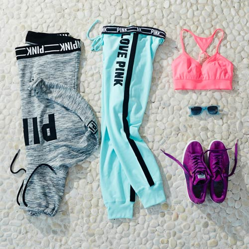 Colorful Long Sleeve Workout Outfit
