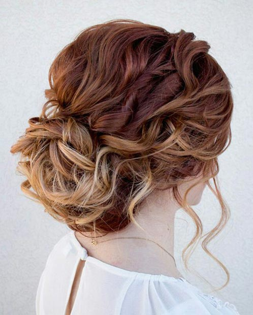 Fine 50 Cute And Trendy Updos For Long Hair Stayglam Short Hairstyles Gunalazisus