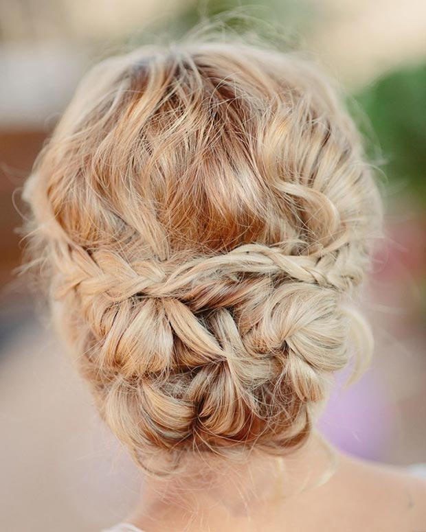 Cute Messy Updo for Long Hair