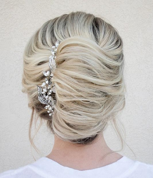 Timeless French Roll Updo