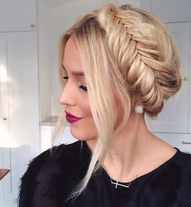 Excellent 50 Cute And Trendy Updos For Long Hair Stayglam Short Hairstyles For Black Women Fulllsitofus