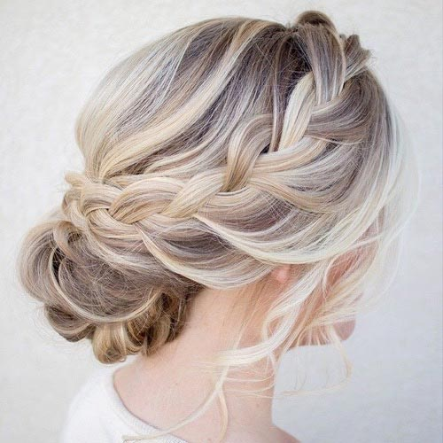 50 Cute and Trendy Updos for Long Hair | StayGlam