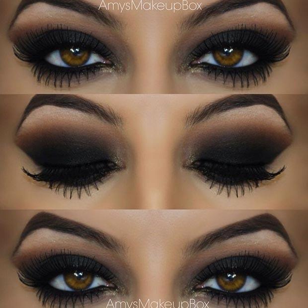 40 Eye Makeup Looks for Brown Eyes : StayGlam