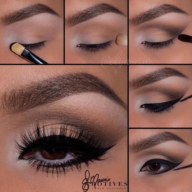 Lower Lash Line Eyeliner Pictorial