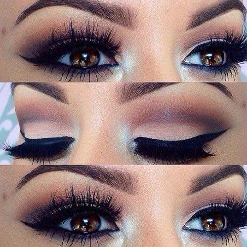 Simple Matte Brown Eye Look for Brown Eyes