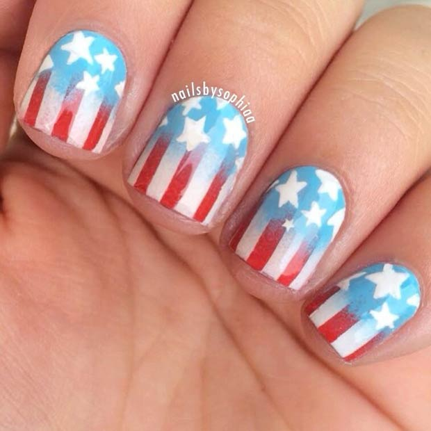 29 fantastic fourth of july nail design ideas stayglam instagram nailsbysophiaa prinsesfo Choice Image