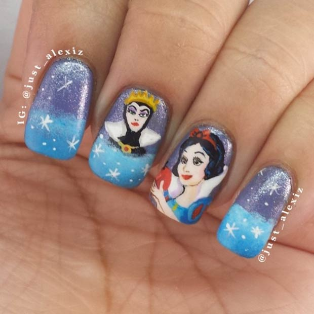21 Super Cute Disney Nail Art Designs | Page 2 of 2 | StayGlam