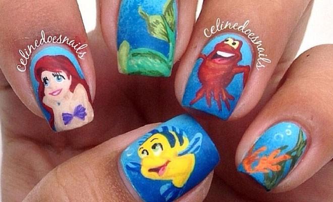 - 21 Super Cute Disney Nail Art Designs StayGlam