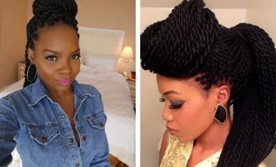 Senegalese Twist Hairstyles for Black Women