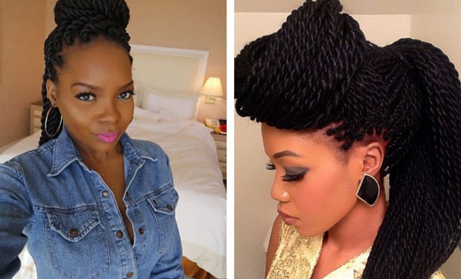 Tremendous 29 Senegalese Twist Hairstyles For Black Women Stayglam Short Hairstyles Gunalazisus