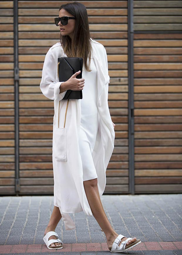 Total White Outfit for Spring