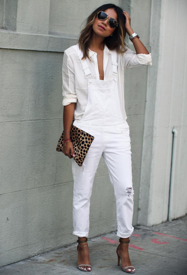 30 Fashionable All White Outfits for Any Season | StayGlam