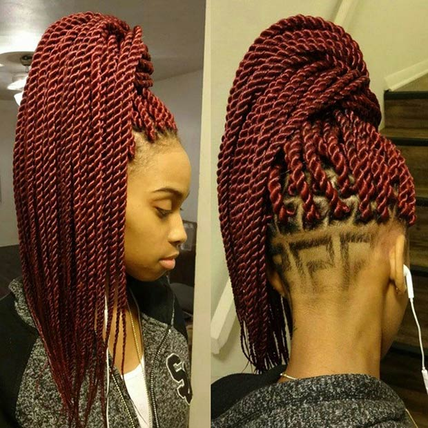 Crochet Hair Rope Twist : 29 Senegalese Twist Hairstyles for Black Women StayGlam