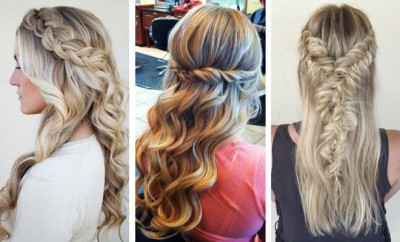 Stunning Half Up, Half Down Hairstyles