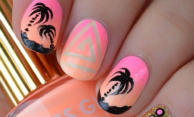 30 Eye-Catching Summer Nail Art Designs - 30 Eye-Catching Summer Nail Art Designs StayGlam