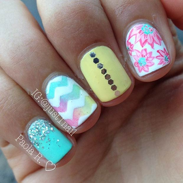 30 Eye Catching Summer Nail Art Designs Stayglam