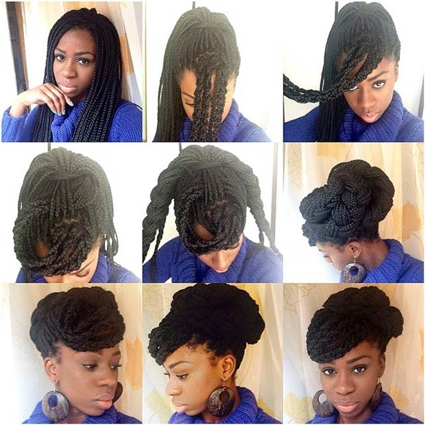 70 Box Braids Hairstyles That Turn Heads Page 3 Of 7 Stayglam