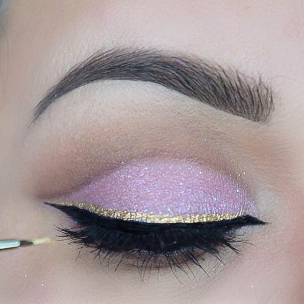 Black & Gold Double Eyeliner